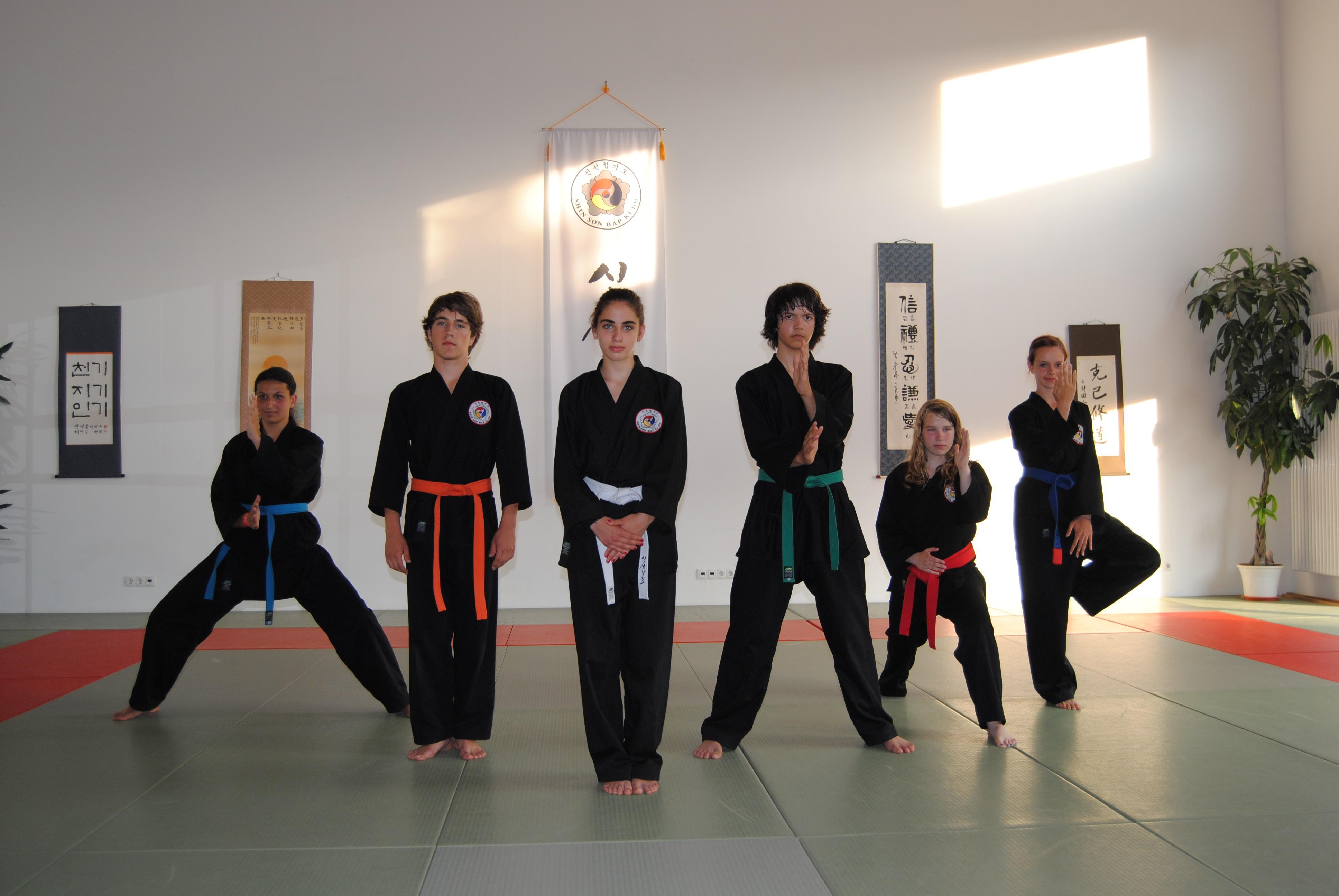 Hapkido Jugendgruppe