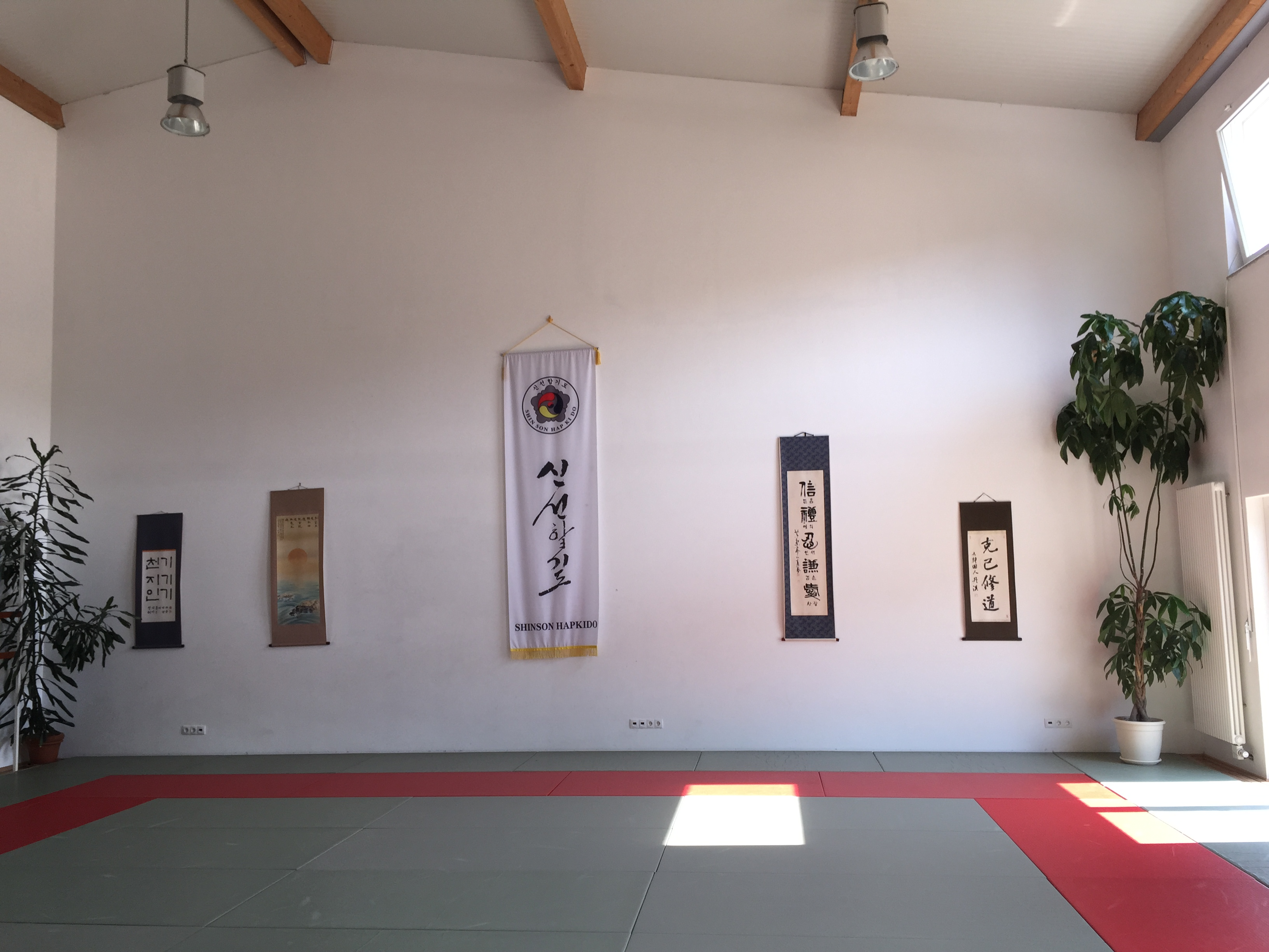 Dojang Trainingsraum